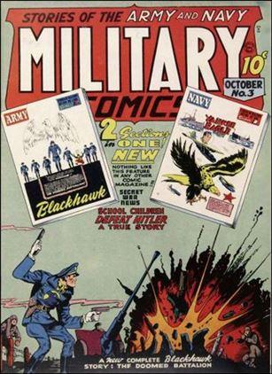 Military Comics 3-A