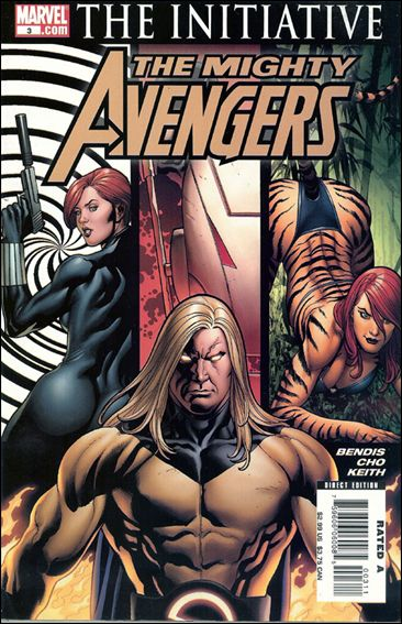 Mighty Avengers (2007) 3-A by Marvel