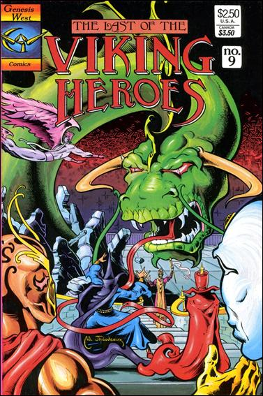 Last Of The Viking Heroes 9-A by Genesis West Comics
