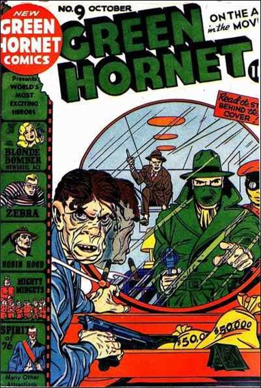 Green Hornet Comics 9-A by Harvey