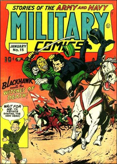 Military Comics 15-A by Comic Magazines