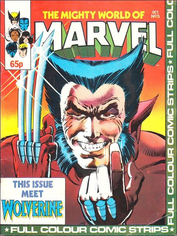 Mighty World of Marvel (UK) (1983) 5-A by Marvel UK