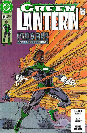 Green Lantern (1990) 15-A by DC