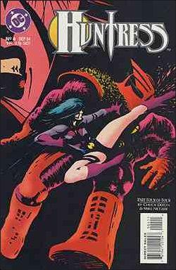 Huntress (1994) 4-A by DC