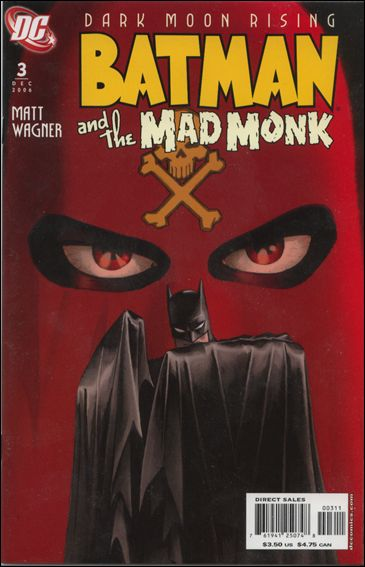 Batman and the Mad Monk 3-A by DC