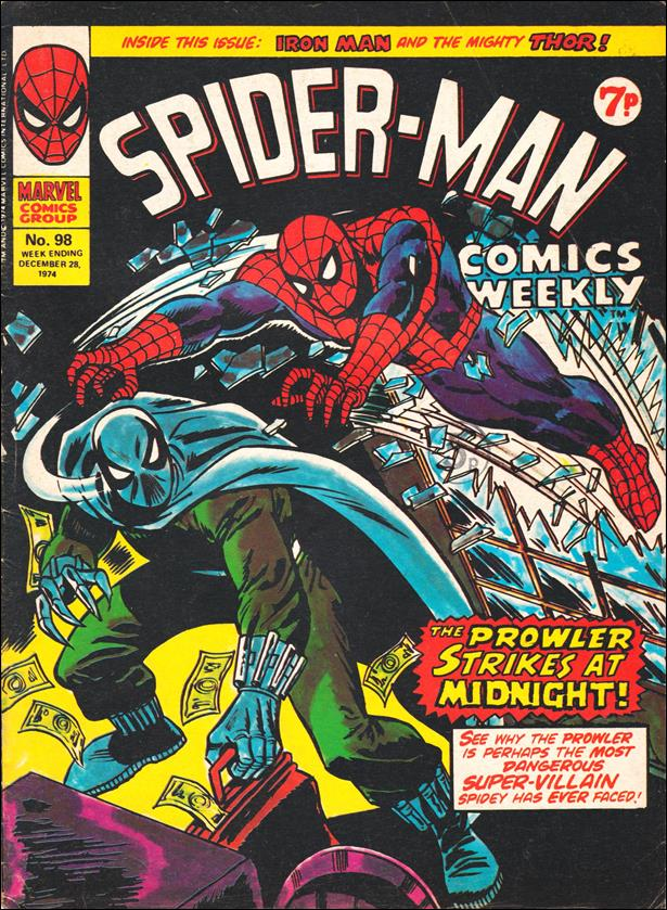Spider-Man: Comics Weekly (UK) 98-A by Marvel UK