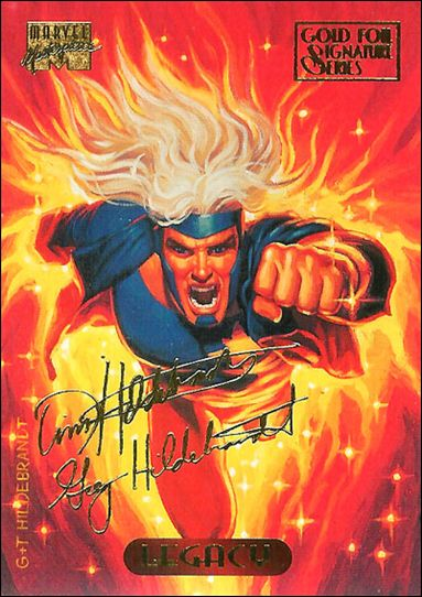 1994 Marvel Masterpieces (Gold-Foil Signature Parallel Base Set) 66-A by Fleer