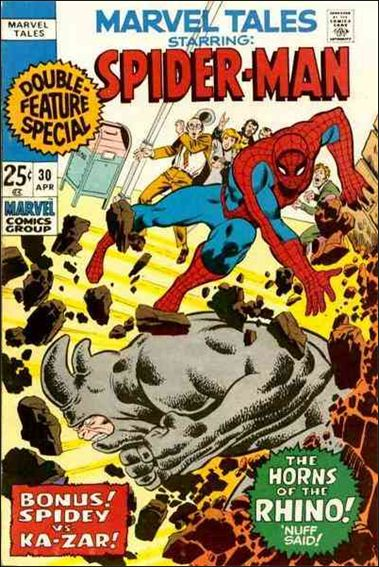 Marvel Tales (1966) 30-A by Marvel