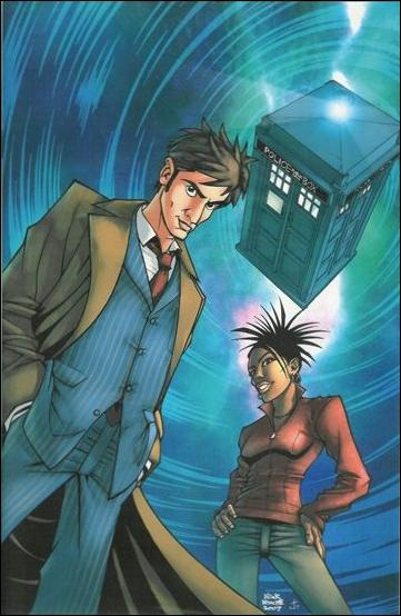 Doctor Who (2008) 1-B by IDW