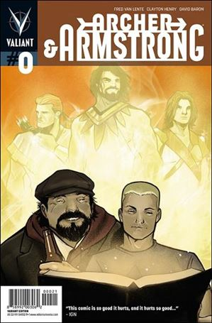 Archer & Armstrong (2012) 0-B