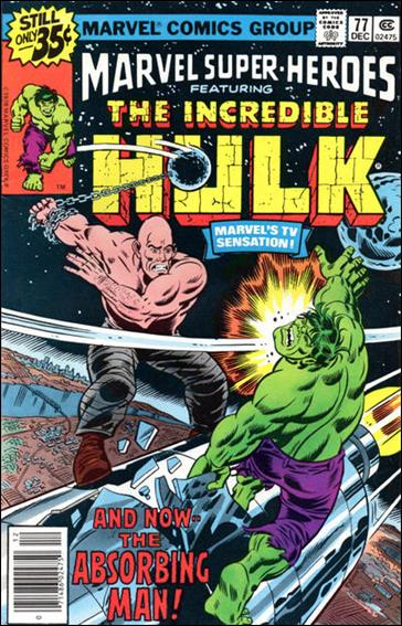 Marvel Super-Heroes (1967) 77-A by Marvel