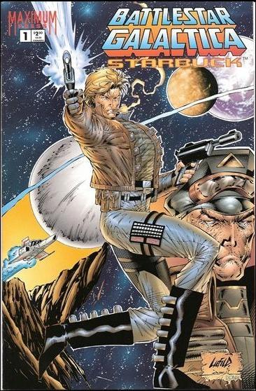 Battlestar Galactica: Starbuck 1-A by Maximum Press