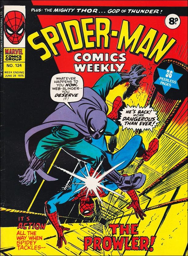 Spider-Man: Comics Weekly (UK) 124-A by Marvel UK