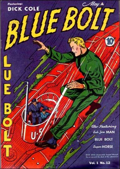 Blue Bolt (1940) 12-A by Novelty Press