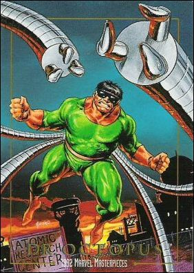 1992 Marvel Masterpieces (Base Set) 25-A by SkyBox