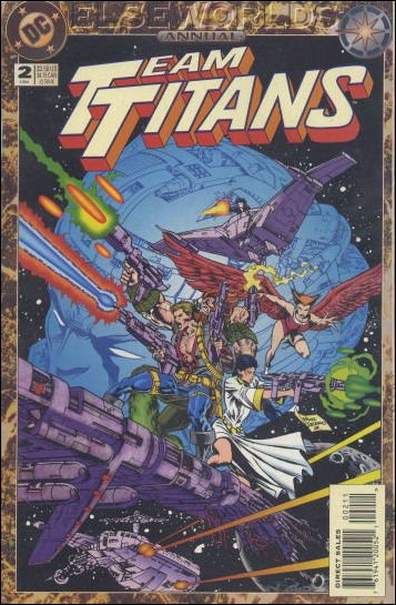 Team Titans Annual 2-A by DC