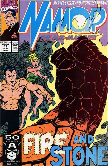 Namor: The Sub-Mariner 17-A by Marvel