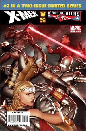 X-Men vs Agents of Atlas 2-A
