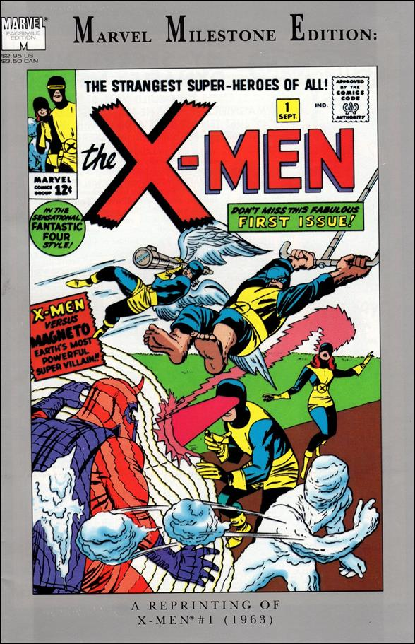 Marvel Milestone Edition: X-Men 1-A by Marvel