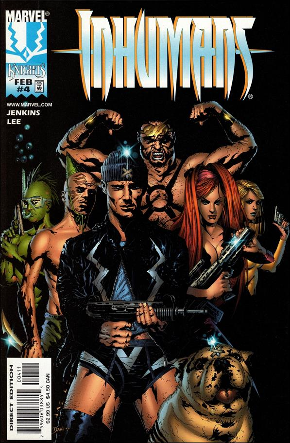 Inhumans (1998) 4-A by Marvel