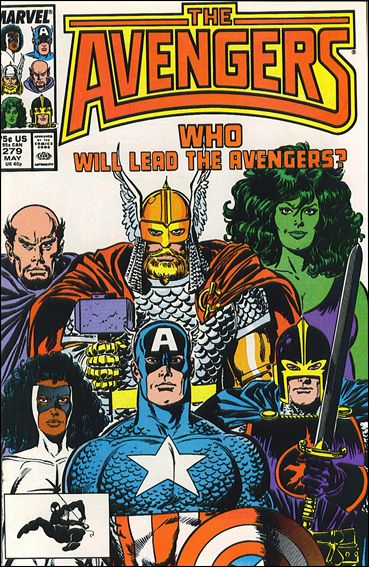 Avengers (1963) 279-A by Marvel