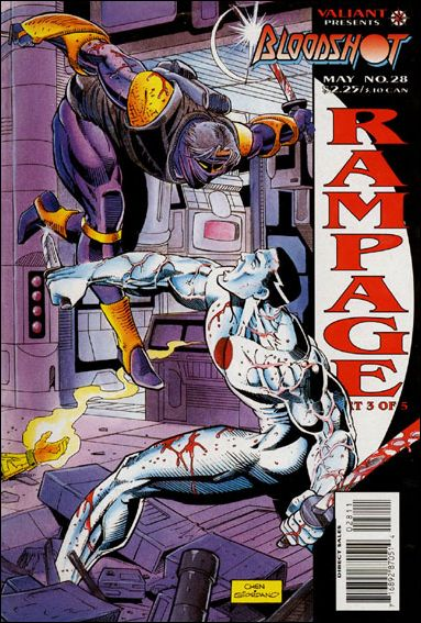 Bloodshot (1993) 28-A by Valiant