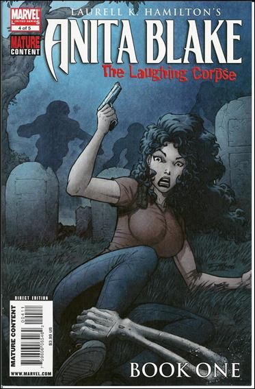 Anita Blake: The Laughing Corpse - Book One 4-A by Marvel
