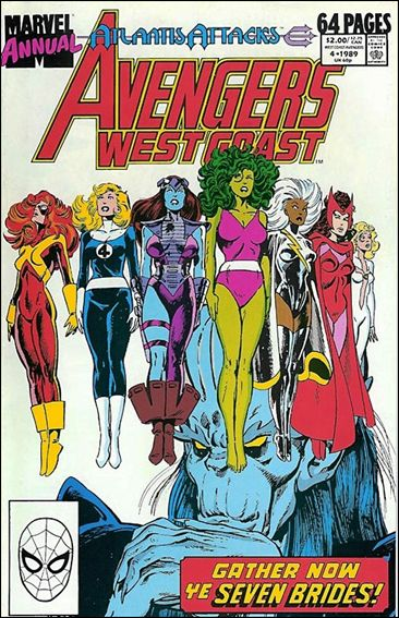 Avengers West Coast Annual 4-A by Marvel