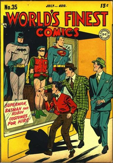 World's Finest Comics 35-A by DC