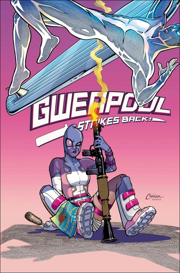 Gwenpool Strikes Back 1-E by Marvel