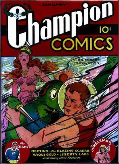 Champion Comics 3-A by Harvey