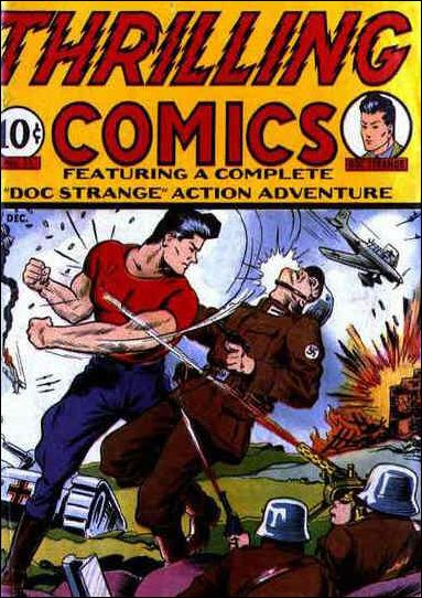 Thrilling Comics (1940) 11-A by Standard