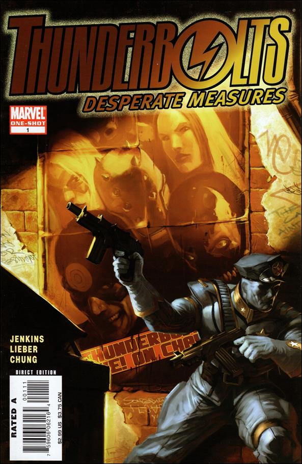 Thunderbolts: Desperate Measures 1-A by Marvel