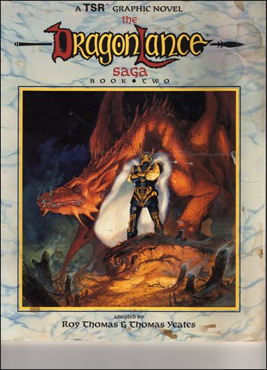 Dragonlance Saga 2-A by TSR