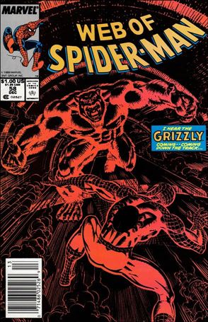 Web of Spider-Man (1985) 58-A