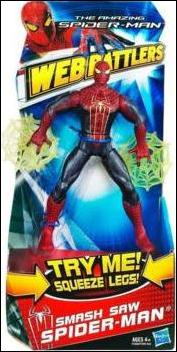 Amazing Spider-Man (Web Battlers)  Smash Saw Spider-Man (Movie Series) by Hasbro