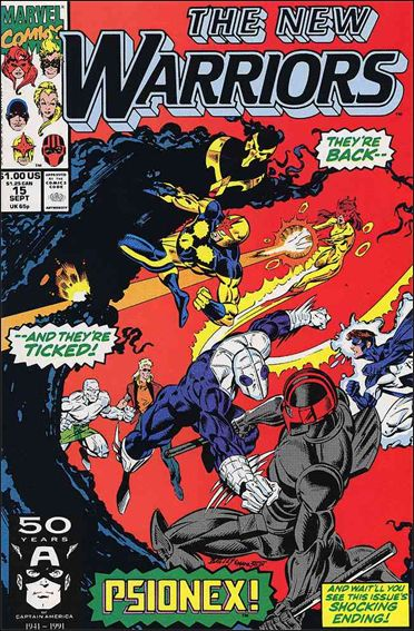 New Warriors (1990) 15-A by Marvel