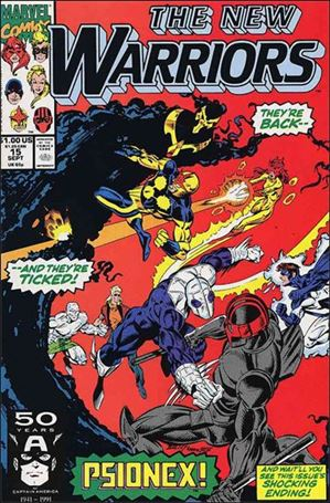 New Warriors (1990) 15-A