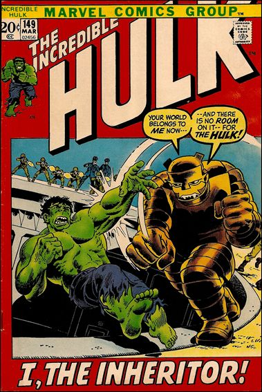 Incredible Hulk (1968) 149-A by Marvel