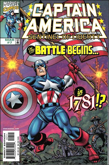 Captain America: Sentinel of Liberty 7-A by Marvel