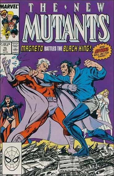 New Mutants (1983) 75-A by Marvel