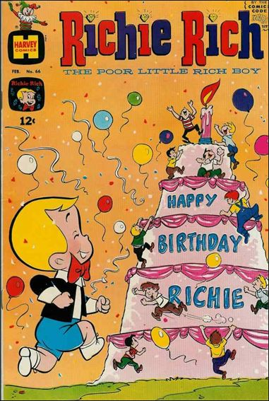 Richie Rich (1960) 66-A by Harvey