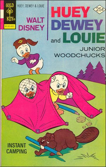 Walt Disney Huey, Dewey and Louie: Junior Woodchucks  36-A by Gold Key