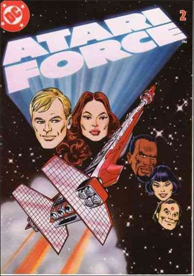Atari Force (1982) 2-A by DC