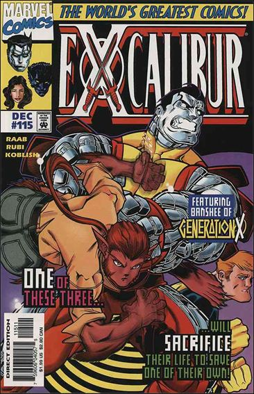 Excalibur (1988) 115-A by Marvel