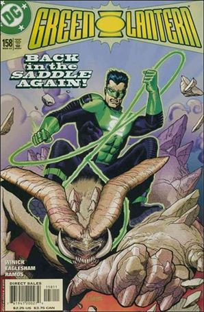Green Lantern (1990) 158-A