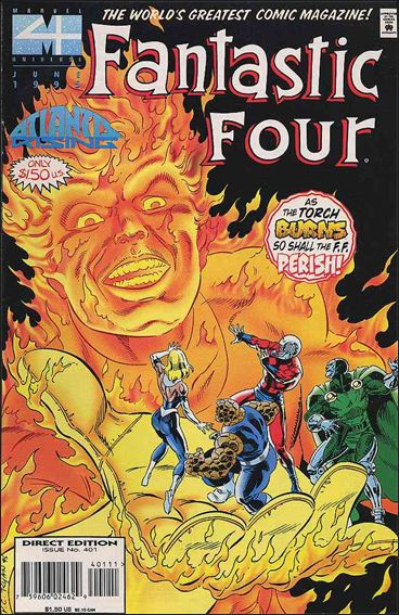 Fantastic Four (1961) 401-A by Marvel
