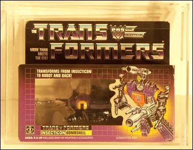 Transformers: More Than Meets the Eye (Generation 1) Bombshell (Insecticon) by Hasbro