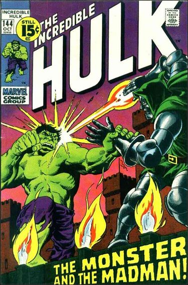 Incredible Hulk (1968) 144-A by Marvel