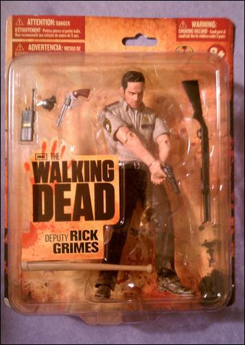 Walking Dead (TV Series 1)  Deputy Rick Grimes (Wal-Mart Exclusive) by McFarlane Toys